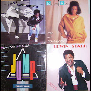 70s disco artists lp sleeves