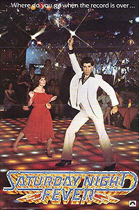 SaturdayNightFever disco dancing john travolta